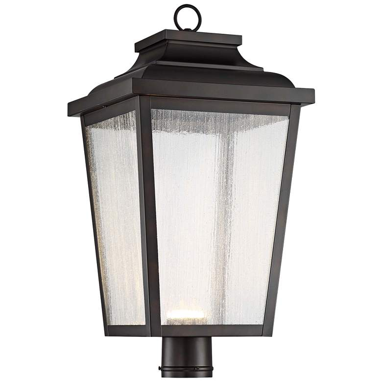"Irvington Manor 24 1/4"" High Bronze LED Outdoor Post Light"