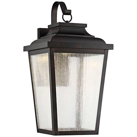 "Irvington Manor 24 1/4"" High Bronze LED Outdoor Wall Light"