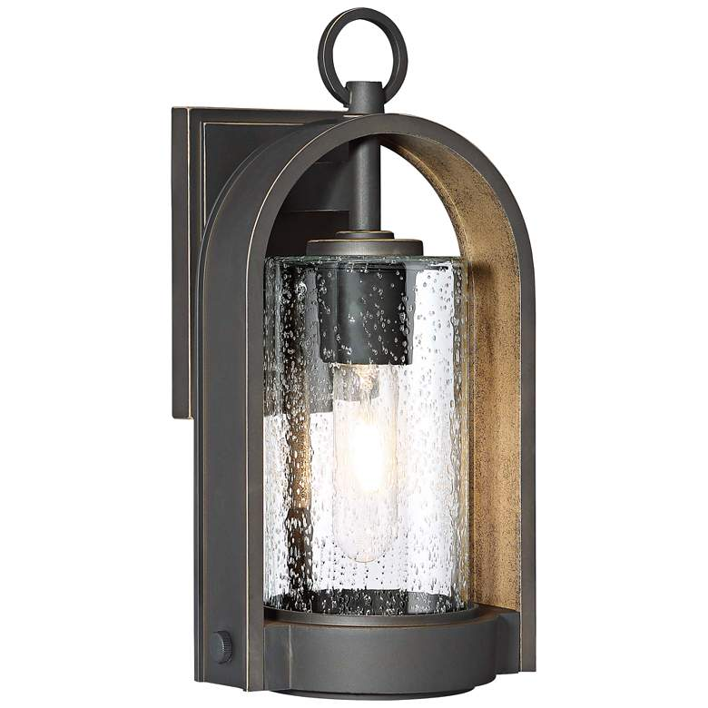 """Kamstra 13 1/2"""" High Oil-Rubbed Bronze Outdoor Wall Light"""