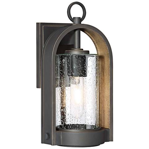 "Kamstra 13 1/2"" High Oil-Rubbed Bronze Outdoor Wall Light"