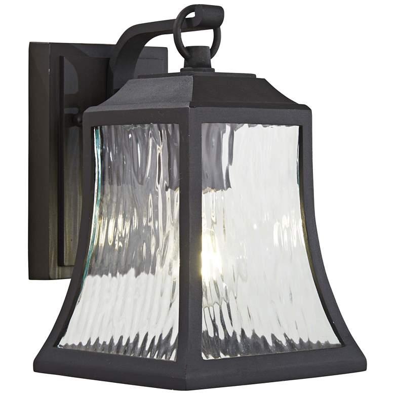 "Cassidy Park 9 3/4"" High Black Outdoor Wall Light"