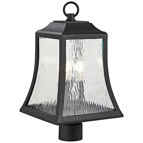 "Cassidy Park 18 3/4"" High Black Outdoor Post Light"
