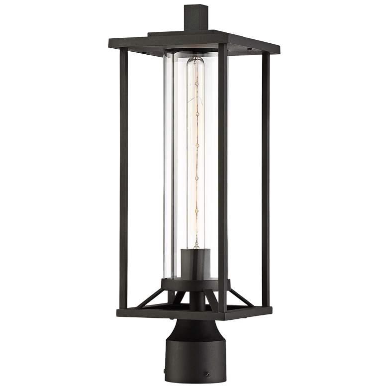 "Trescott 20"" High Black Outdoor Post Light"
