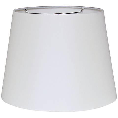 British Oyster Empire Hardback Lamp Shade 12x18x12 (Spider)