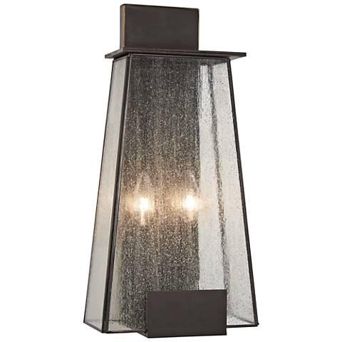 """Bistro Dawn 18"""" High Dakota Bronze Outdoor Wall Light"""