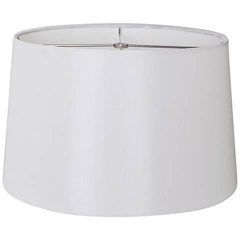 Retro Oyster Drum Hardback Lamp Shade 12x14x9.5 (Spider)
