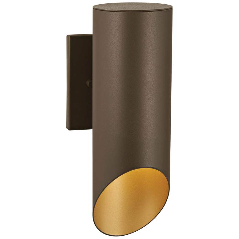 """Pineview Slope 12 1/2"""" High Sand Bronze Outdoor Wall Light"""