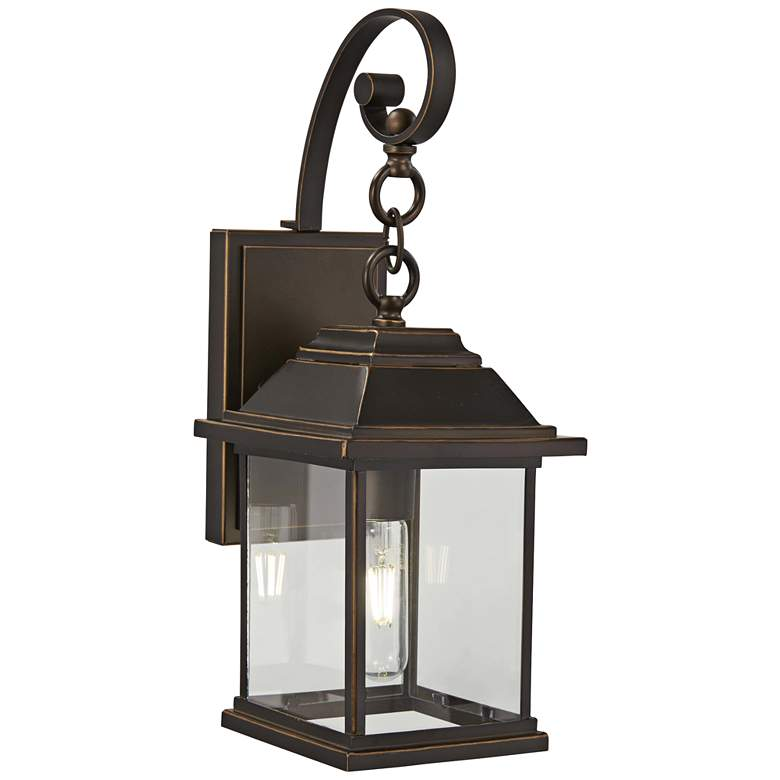 """Mariner's Pointe 18""""H Oil-Rubbed Bronze Outdoor Wall Light"""