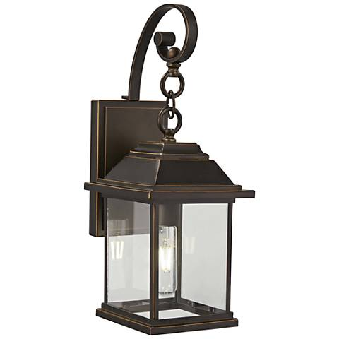 "Mariner's Pointe 18""H Oil-Rubbed Bronze Outdoor Wall Light"