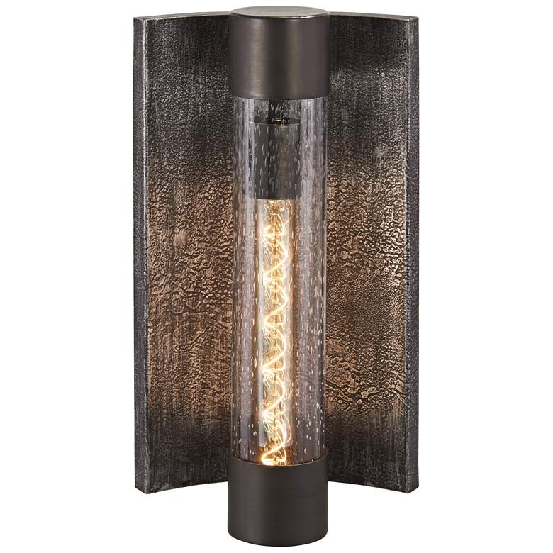 """Celtic Shadow 16 1/2""""H Textured Bronze Outdoor Wall"""