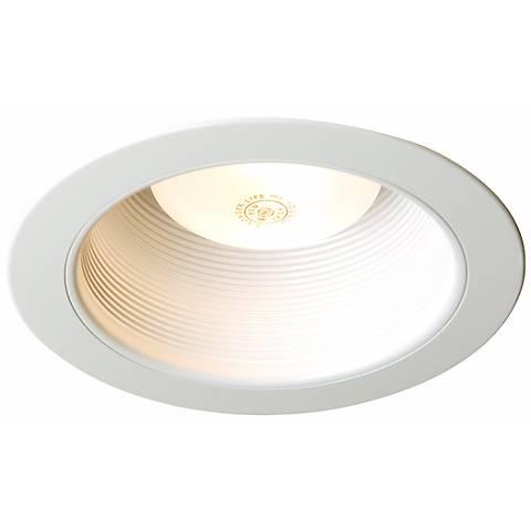juno 6 white plastic baffle trim 54150 lamps plus