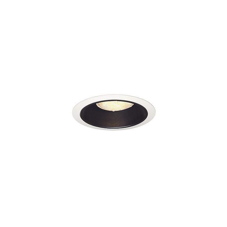 "Juno 6"" Line Voltage Black Baffle Recessed Light"