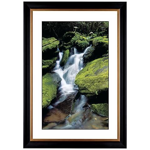 "Waterfall Giclee 41 3/8"" Wide Wall Art"