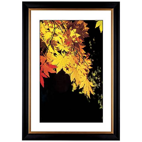 "Autumn Leaves Giclee 41 3/8"" Wide Wall Art"