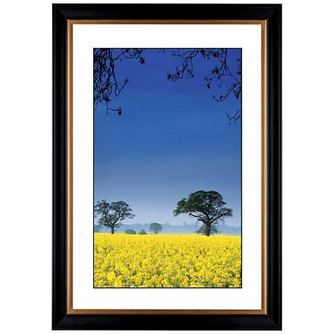 "Field of Yellow Giclee 41 3/8"" High Wall Art"