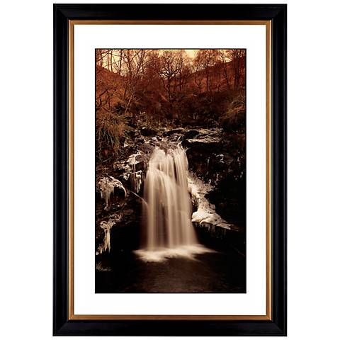 "Waterfall II Giclee 41 3/8"" High Wall Art"