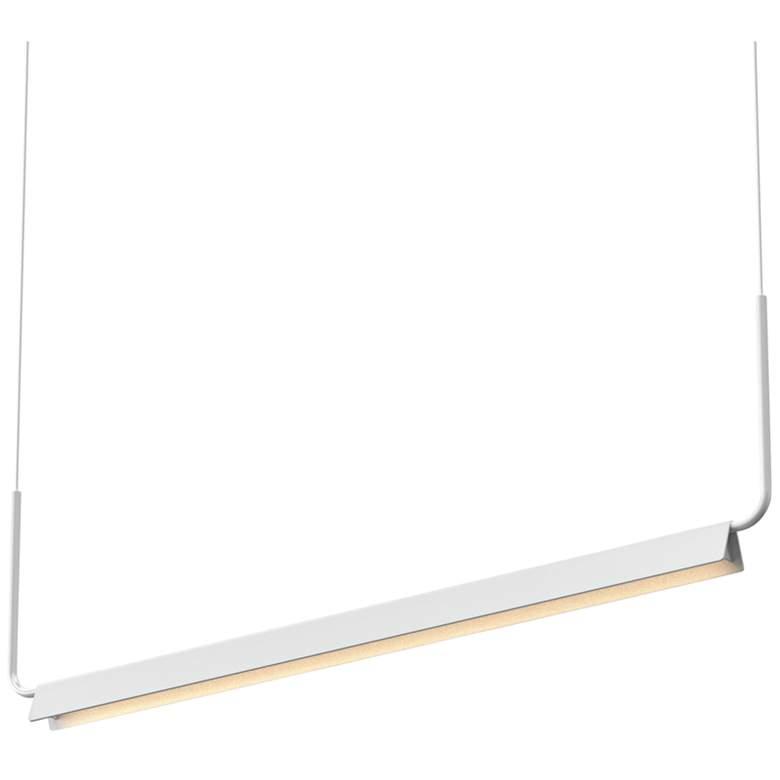 "Sonneman Morii 48""W White LED Kitchen Island Light Pendant"