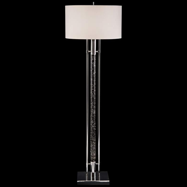 Body Illuminating Interstellar Floor Lamp w/ LED Night Light