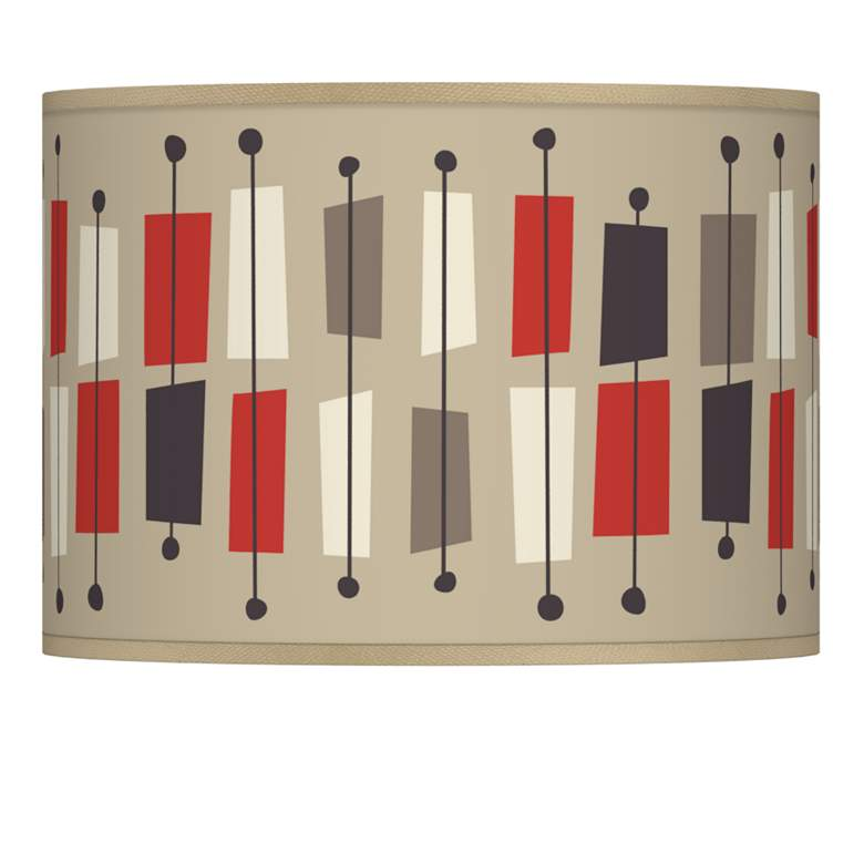Bounce Giclee Lamp Shade 13.5x13.5x10 (Spider)