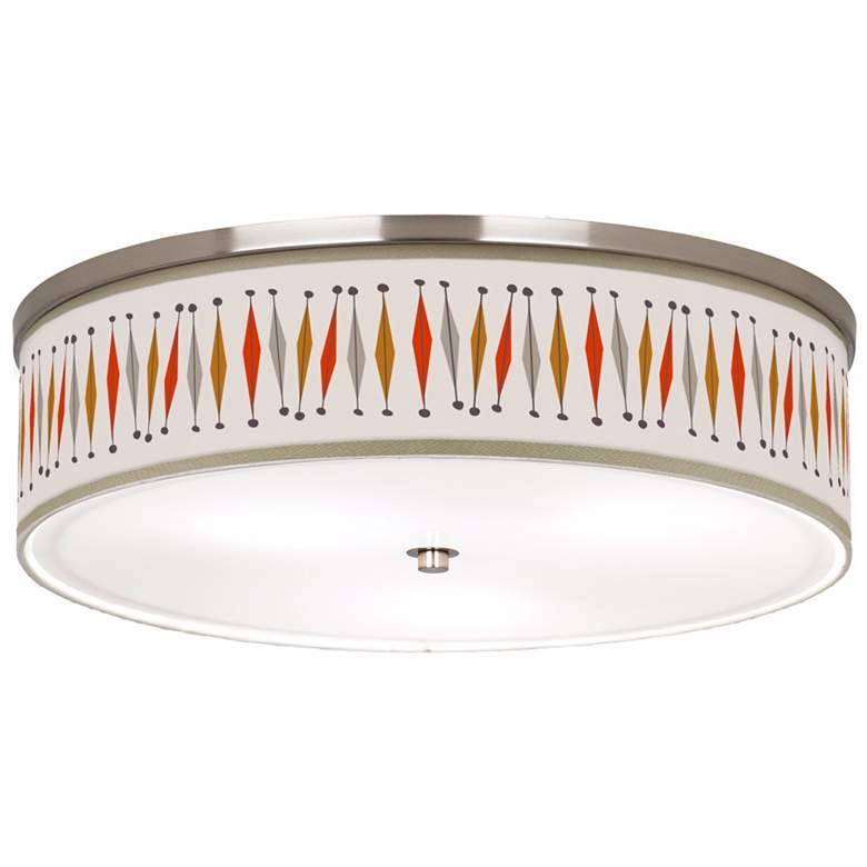 "Tremble Giclee 20 1/4"" Wide Modern Ceiling Light"