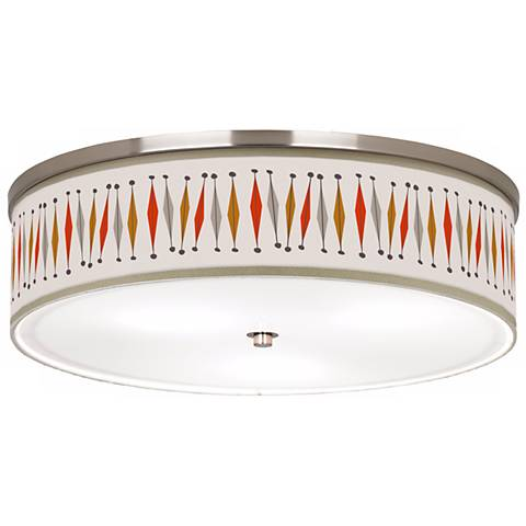 "Tremble Giclee 20 1/4"" Wide Ceiling Light"
