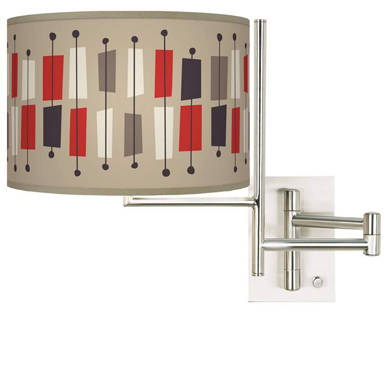 Tempo Bounce Plug-In Swing Arm Wall Light