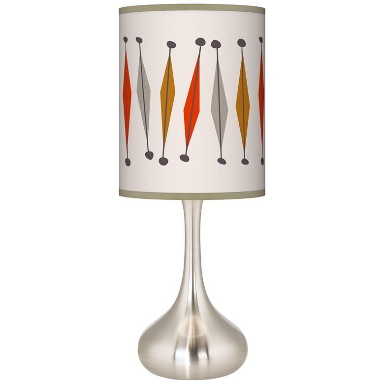 Tremble Giclee Droplet Table Lamp