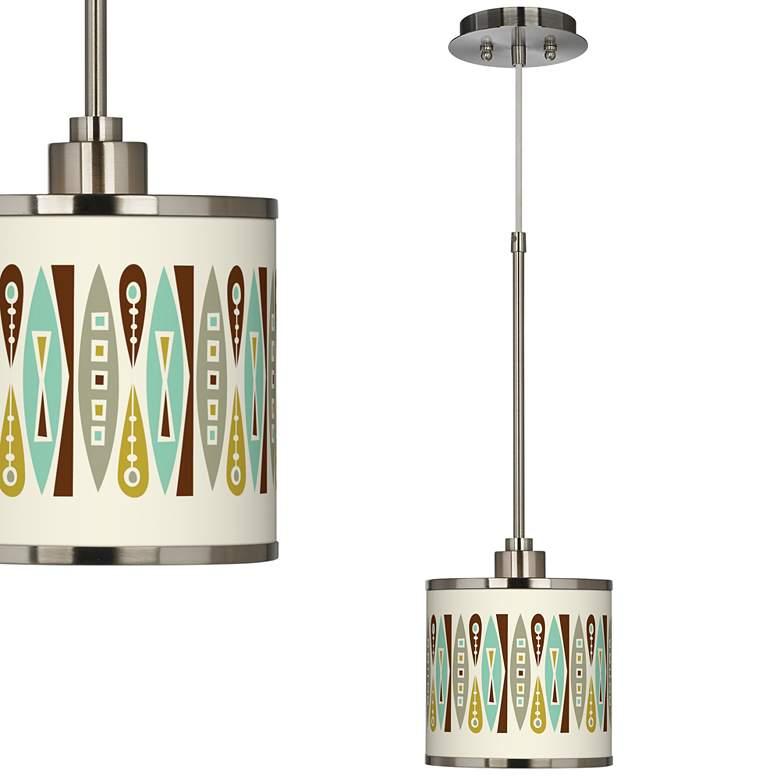 Vernaculis II Giclee Glow Mini Pendant Light