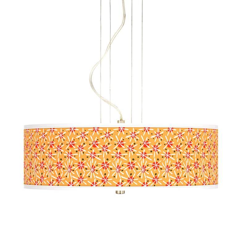 """Seastar 20"""" Wide 3-Light Pendant Chandelier"""