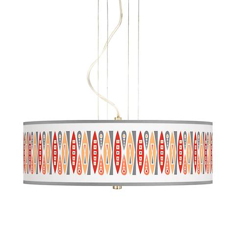 "Vernaculis VI 20"" Wide 3-Light Pendant Chandelier"
