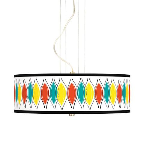 "Harmonium 20"" Wide 3-Light Pendant Chandelier"