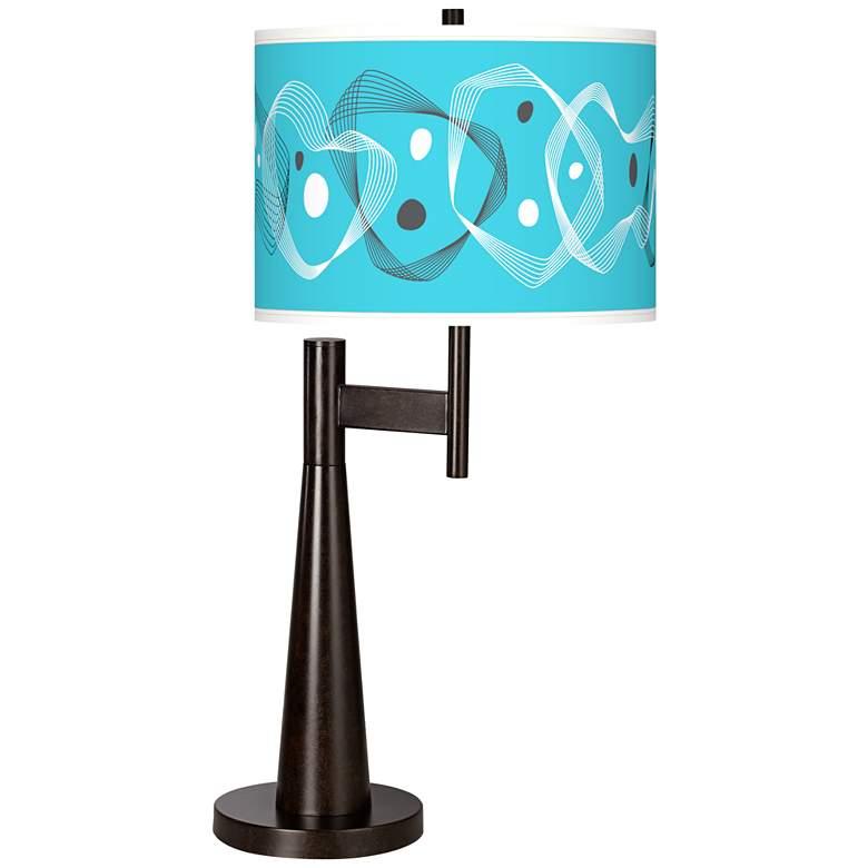 Spirocraft Giclee Novo Table Lamp