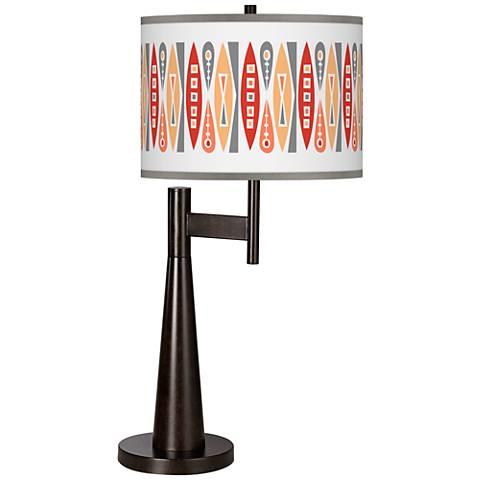 Vernaculis VI Giclee Novo Table Lamp