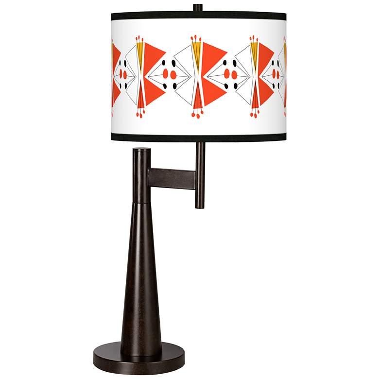 Lexiconic III Giclee Novo Table Lamp