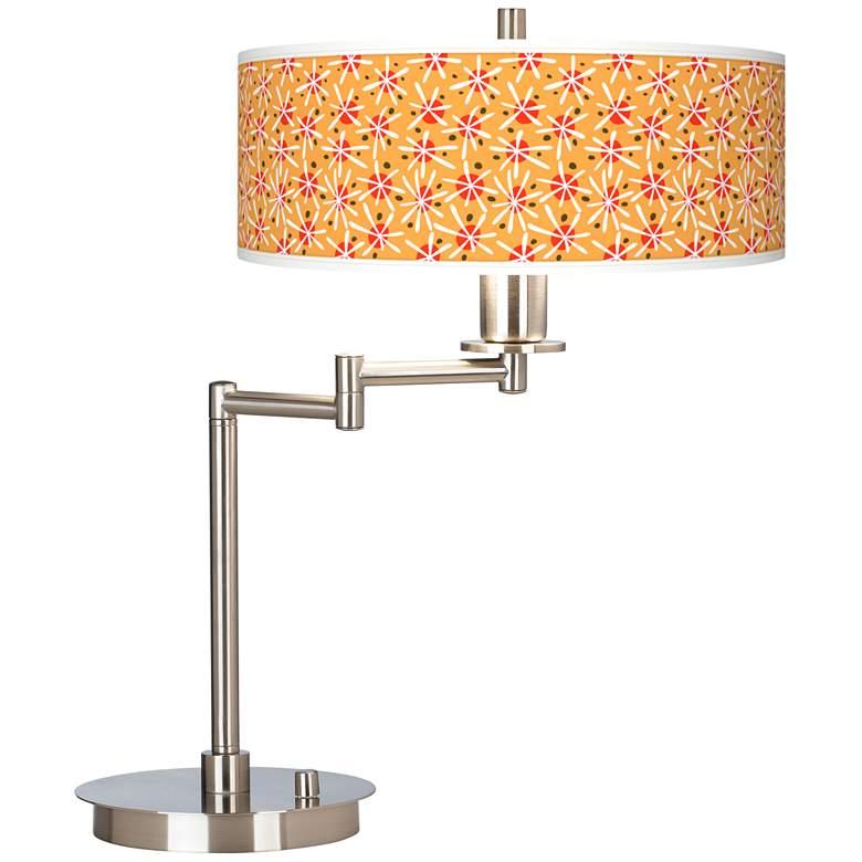Seastar Giclee CFL Swing Arm Desk Lamp