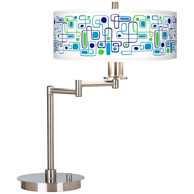 Racktrack Giclee CFL Swing Arm Desk Lamp