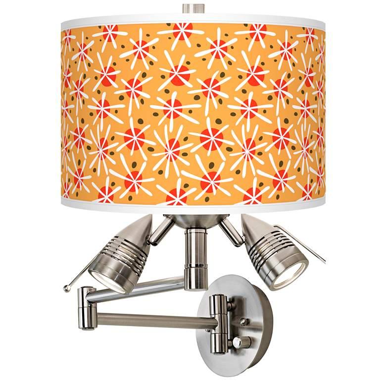 Seastar Giclee Plug-In Swing Arm Wall Lamp