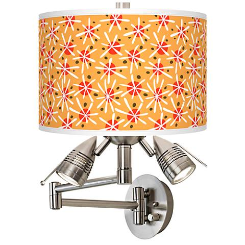 Seastar Giclee Swing Arm Wall Lamp