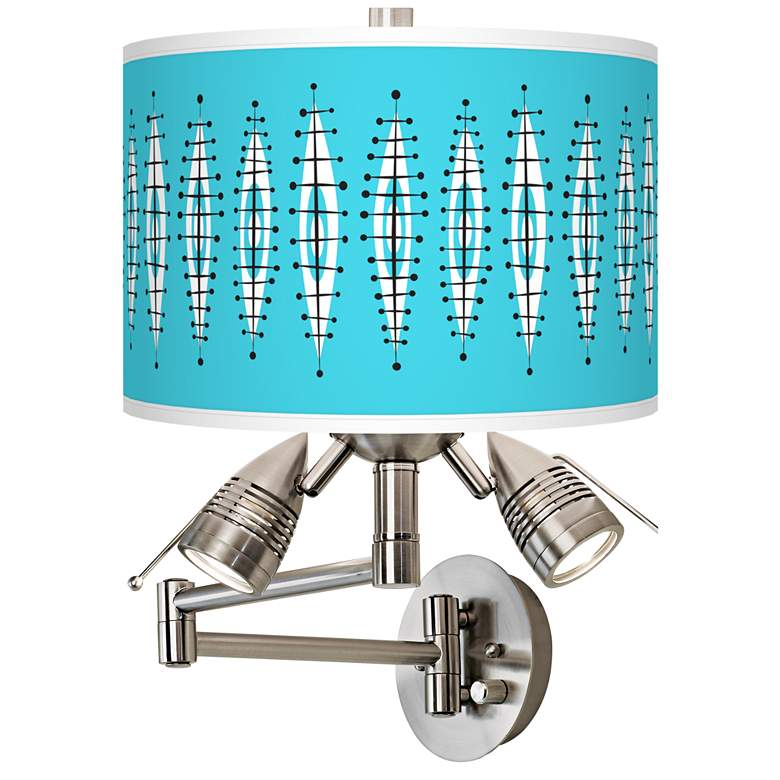 Vibraphonic Bounce Giclee Swing Arm Wall Lamp
