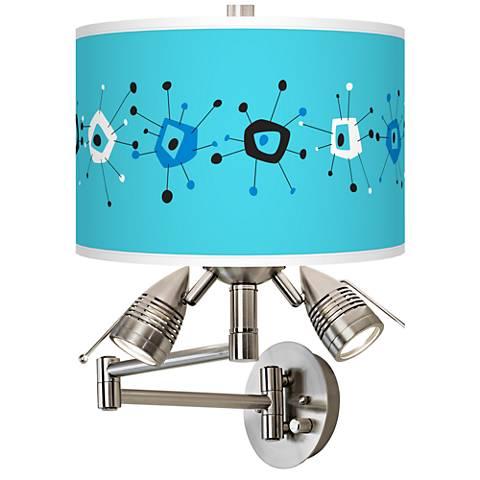 Sputnickle Giclee Swing Arm Wall Lamp