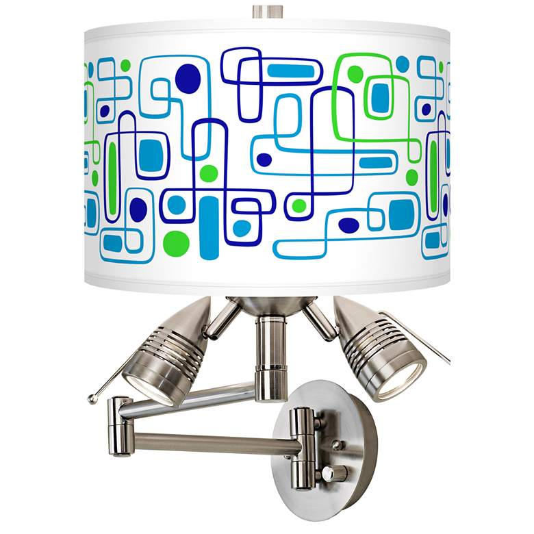 Racktrack Giclee Plug-In Swing Arm Wall Lamp