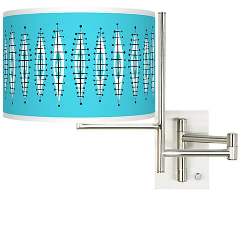 Tempo Vibraphonic Bounce Plug-in Swing Arm Wall Lamp