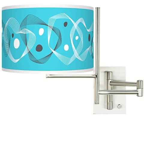 Tempo Spirocraft Plug-in Swing Arm Wall Lamp