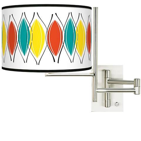 Tempo Harmonium Plug-in Swing Arm Wall Lamp
