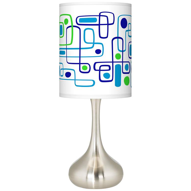 Racktrack Giclee Droplet Table Lamp