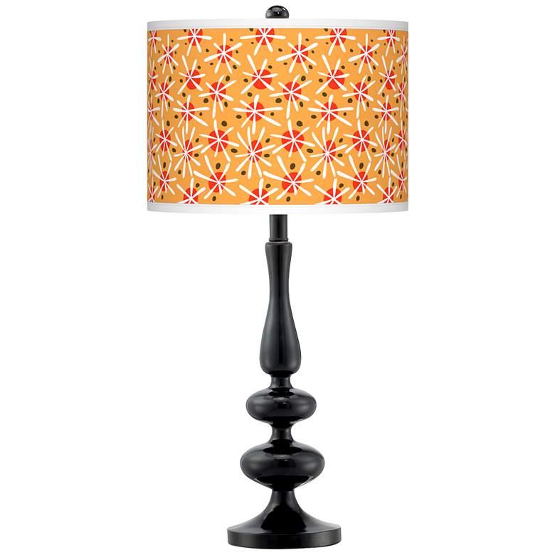 Seastar Giclee Paley Black Table Lamp