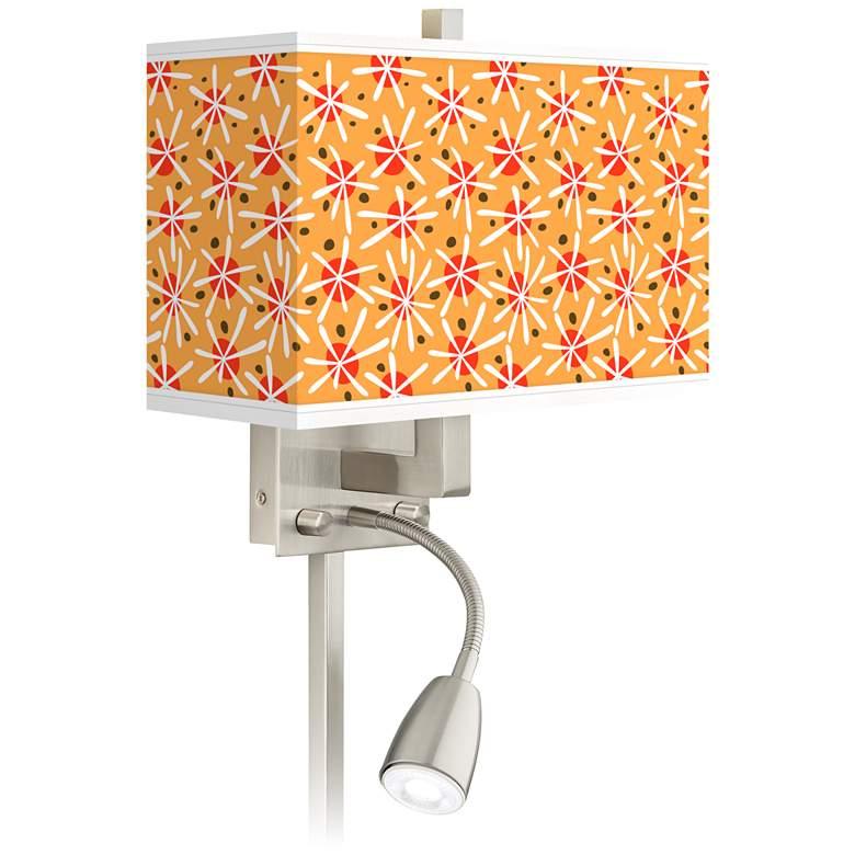 Seastar Giclee Glow LED Reading Light Plug-In Sconce