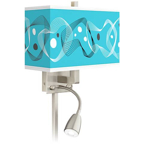 Spirocraft Giclee Glow LED Reading Light Plug-In Sconce