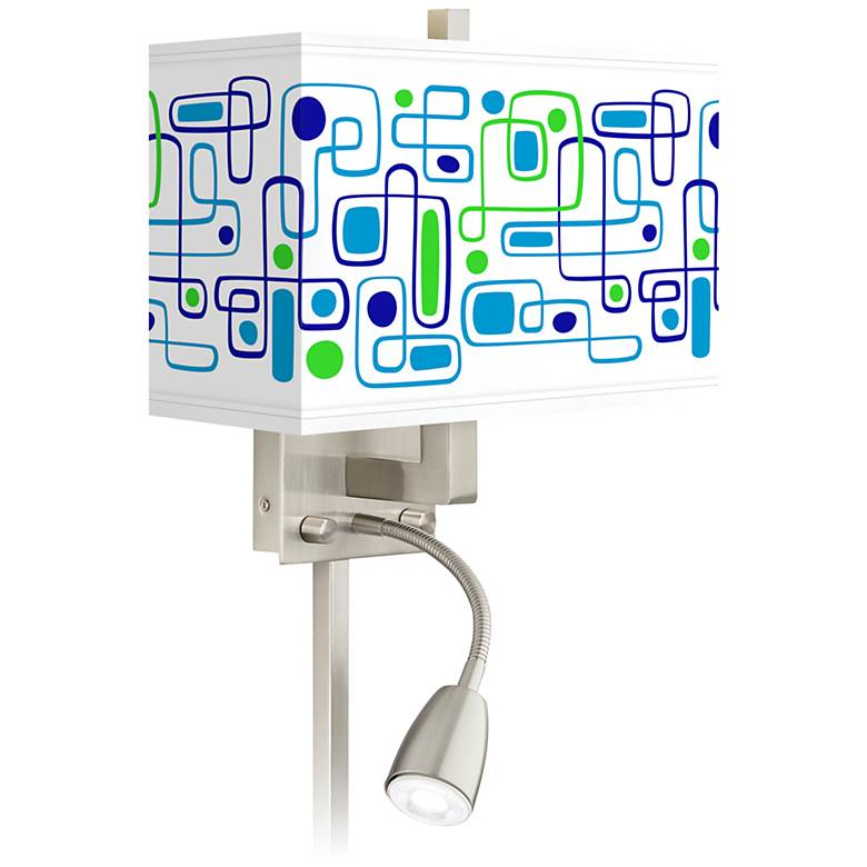 Racktrack Giclee Glow LED Reading Light Plug-In Sconce
