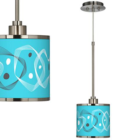 Spirocraft Giclee Glow Mini Pendant Light